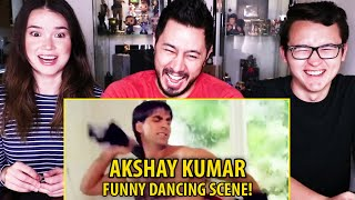 AKSHAY KUMAR - Funny Dancing Scene Under The Shower | Suhaag | Comedy | Reaction | Jaby Koay