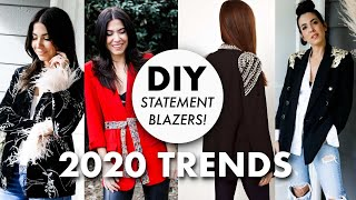 DIY: Statment BLAZERS (2020 Trends!) - By Orly Shani