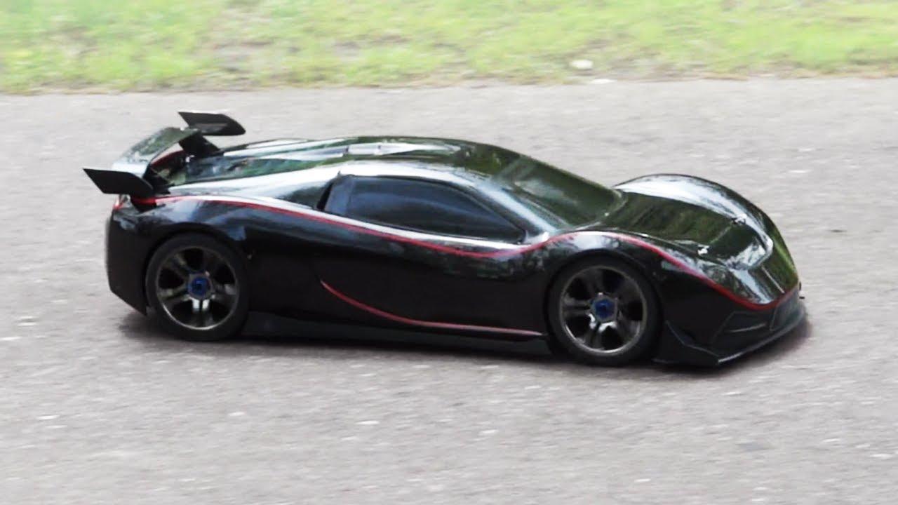 Traxxas XO1  100mph Sporty RC Car  Run And Drift  YouTube