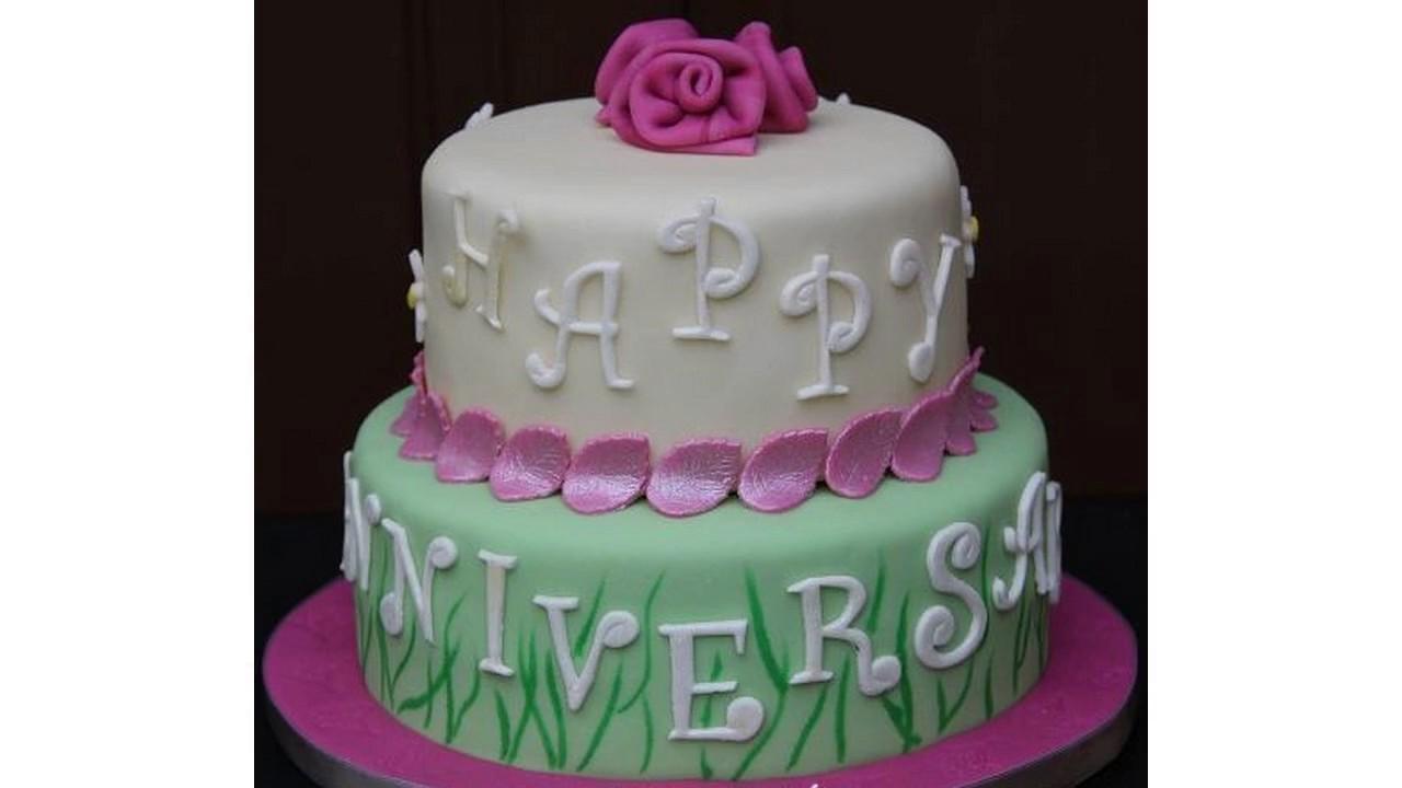 ideas de torta de aniversario de boda