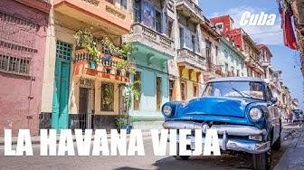 CUBA - La HAVANE  Visiter la Havana Vieja . Havana Voyage