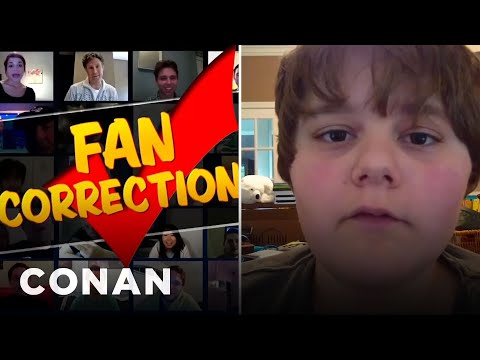 Fan Correction: Power Outages Don't Make Sounds!  - CONAN on TBS