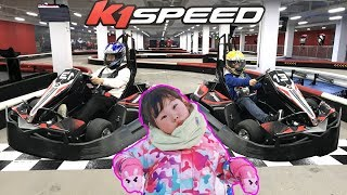 k1speed 자동차 레이싱 체험을 하다! | 홍천 비발디 파크 라임가족 여행기 LimeTube & Ride Car Toys 라임튜브