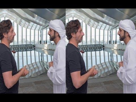 Sheikh Hamdan Fazza  met With  Google co-founder Sergey Brin in Dubai