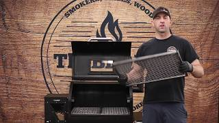 ULTIMATE Green Mountain Grills GMG Custom Grill Grates and Slide Out Second Shelf!