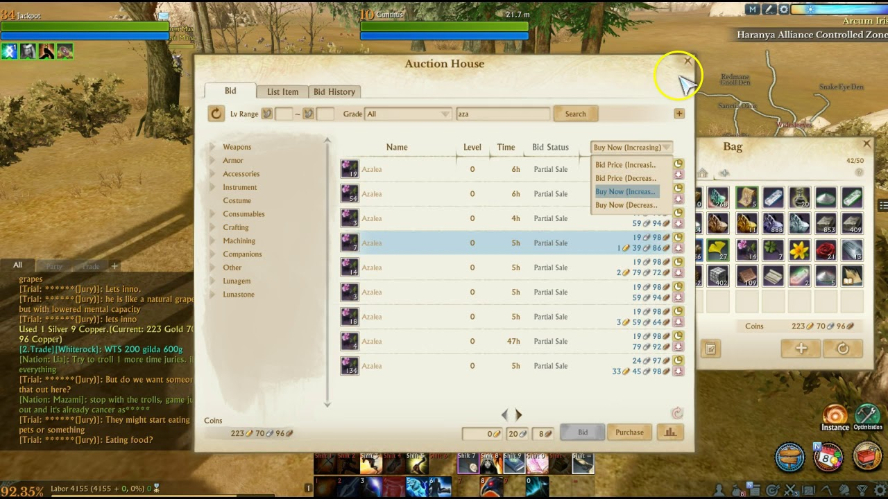 archeage unchained best money making