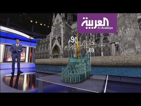 جولة افتراضية للتعرف على كاتدرائية نوتردام  - 23:53-2019 / 4 / 16