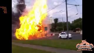 Подборка аварий со взрывами