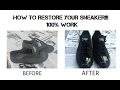 [Sneakers Zone] Tutorials: How To Restore Your Black Converse  (Quick and Easy Step)