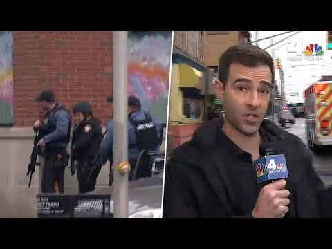 jersey-city-active-shooter:-gunshots-send-wnbc-crew-running-for-cover-|-nbc-new-york
