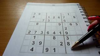 Sudoku: Tutorial, Step By Step, How To! Simple Instructions. Very Addictive & Fun Puzzle Game