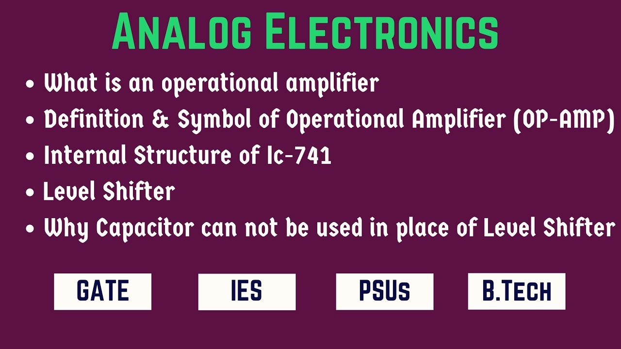 What Is An Operational Amplifier Opamposcillator Oscillatorcircuit Signalprocessing Circuit