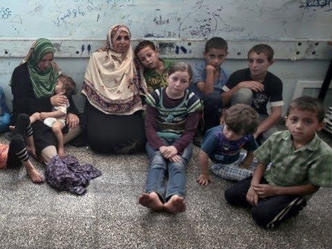 Scars Show As Gaza's Children Endure Third War