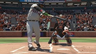 Can The Slowest Player In The Game David Ortiz Hit An Inside The Park Homerun   MLB 16 Challenge