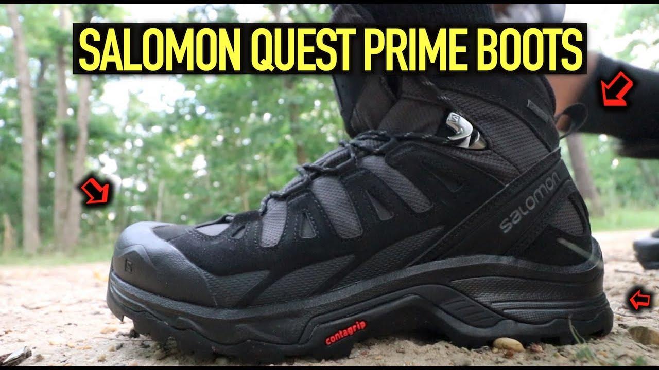 UNBOXING SALOMON QUEST PRIME GTX BOOTS