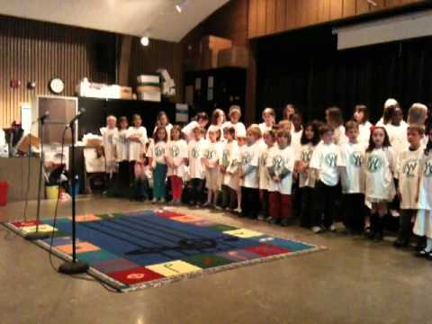 One Small Voice - Spring Sing at Washington Elementary School 2011
