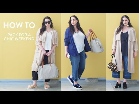 How to Pack a Suitcase for a Chic Weekend | Nordstrom