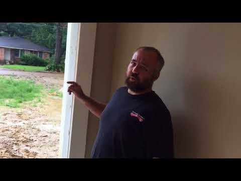 How to frame up your garage door opening before installation