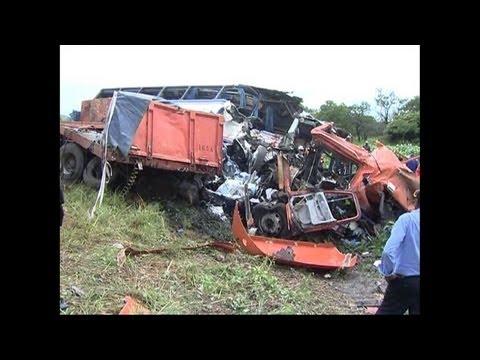 53 dead in Zambia bus crash