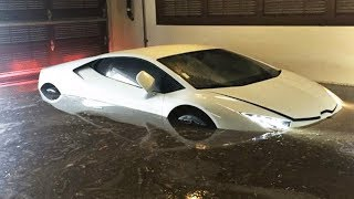 Er versenkt seinen Lamborghini 😱 Extreme TEURE Fails..