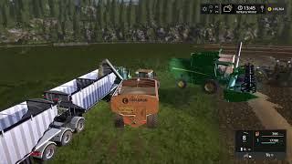 Farming simulator 17 Timelapse #5 | Rattle Snake Valley.