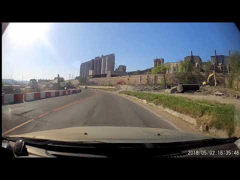 Новороссийск. Нарушение ПДД 2018-05-02_16:36:48 Сухумское шоссе, танк (к878нн93)