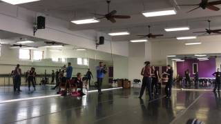 Cleo Parker Robinson Dance Ensemble - Romeo+Juliet Rehearsal