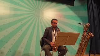 Bernardo Monk: Salgameano for Alto Saxophone. David Hernando Vitores