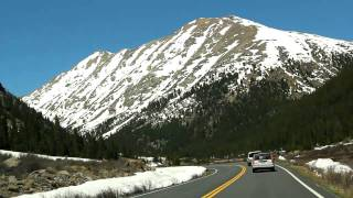 Our Drive through the Rocky Mountains to Aspen