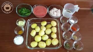 Tasty Dum Aloo   Restaurant Style Dum Aloo   Food Street Style Aloo Curry-Veggie-