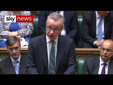 Michael Gove updates MPs on Brexit preparations presenting no-deal 'opportunities'