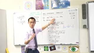 The Quadratic Formula (Derivation)