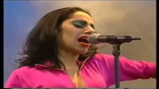 PJ Harvey Live Glastonbury '95