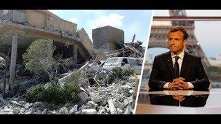 """Syrien-Konflikt: """"Wir mussten Trump zu den Angriffen überreden"""", sagt Macron"""