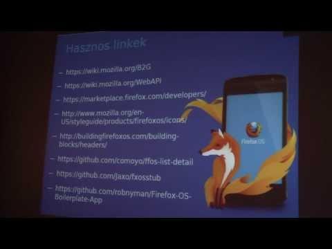 Open Source 2013 - Mozilla, Firefox, OS Szalai Kálmán Mozilla Reps