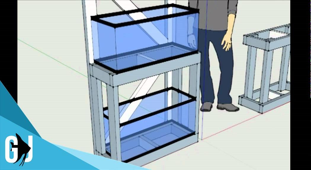 Build A 20 Gallon Long Aquarium Rack