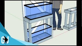#77: How to Build a 20 Gallon Long Aquarium Rack - DIY Wednesday