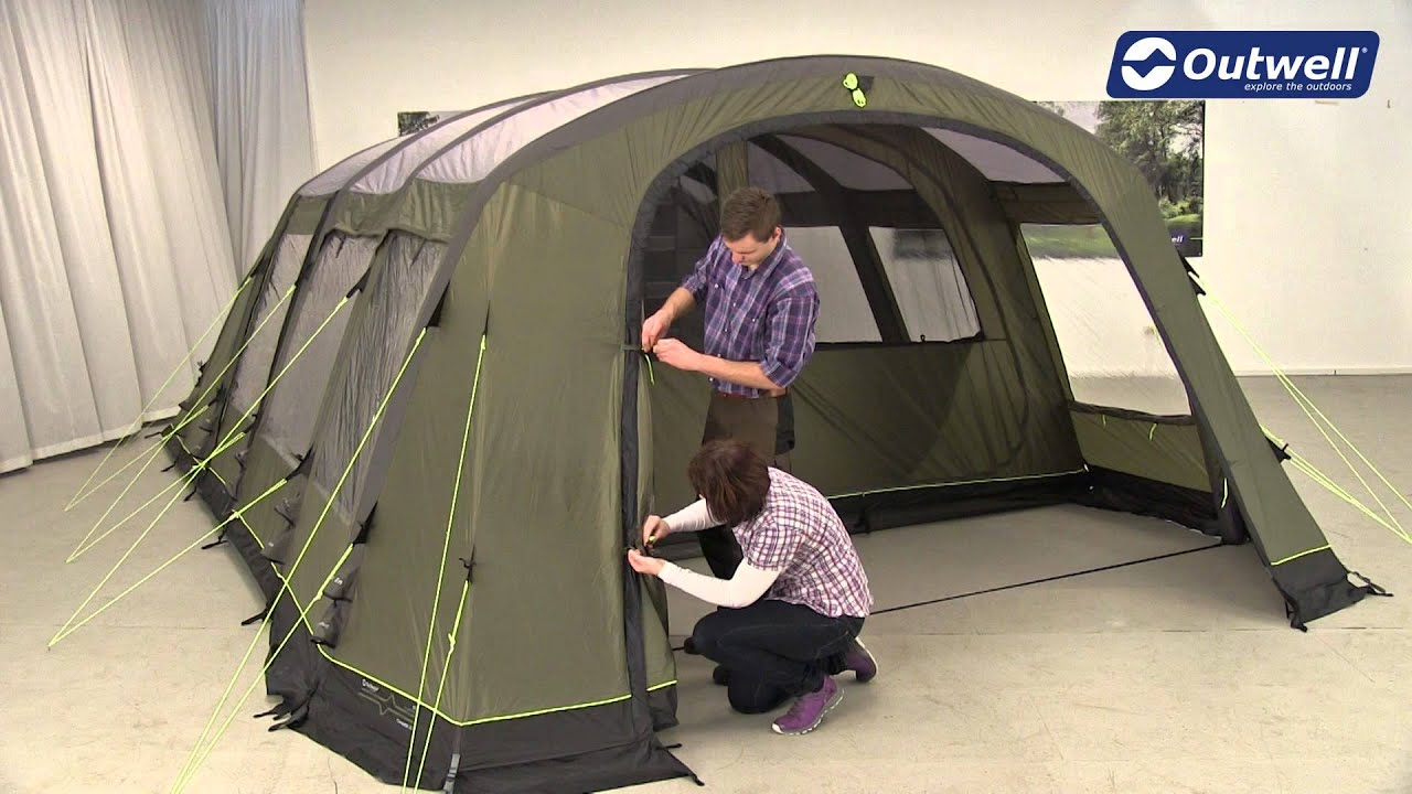 Outwell Corvette XL Tent Pitching Video | Innovative Family C&ing - YouTube & Outwell Corvette XL Tent Pitching Video | Innovative Family ...