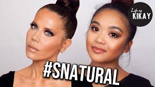 I Tried Following Scott Barnes #Snatural JLo Makeup Look on Tati Westbrook
