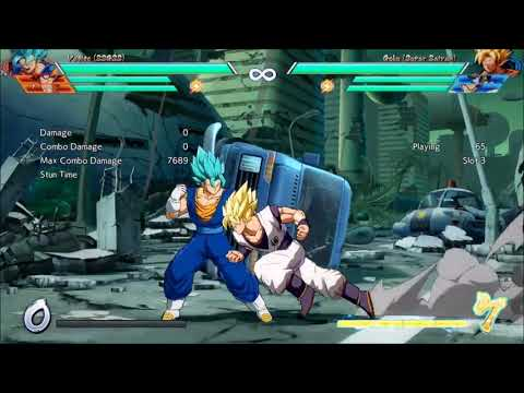 Vegito few patch change examples..  Dragonball fighter Z.. Lacking big D energy notes..