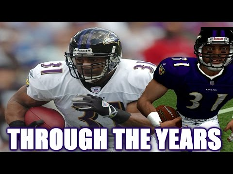 JAMAL LEWIS THROUGH THE YEARS - NCAA FOOTBALL 99 - MADDEN NFL 10