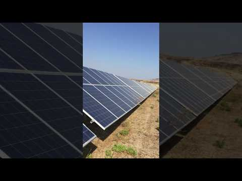 Solar photovoltaic Plant 1mw Italy solar  modules vico export solar energy