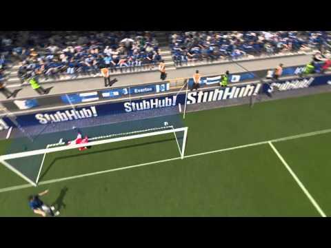 FIFA 15 Fellaini Goal- Manchester united vs Everton