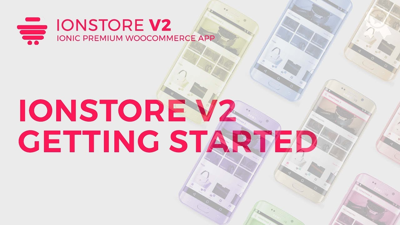 Ionstore 2 - Getting Started