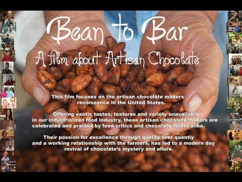 BEAN TO BAR Film Trailer, a film about artisan chocolate. beantobarfilm.com