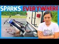 ⚠️ DIRT BIKE RACK FAILED 🌧 RV Living on a Rainy Day 🚧 RV Breakdown