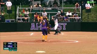 Trinity Softball v. Williams Highlights ~ 5/5/18
