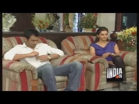 Sania Mirza and Shoaib Malik Exclusive Interview (Part 1) - India TV