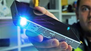 лучший Карманный LED Проектор с Алиэкспресс Byintek UFO P10