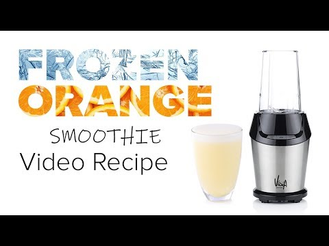 Frozen Orange Vanilla Smoothie Recipe